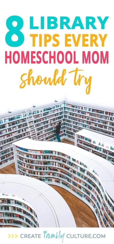8 Library Tips Every Mom Should Try | Homeschool tips and resources | book lists | Reading to kids | Preschool and Elementary Education | living books