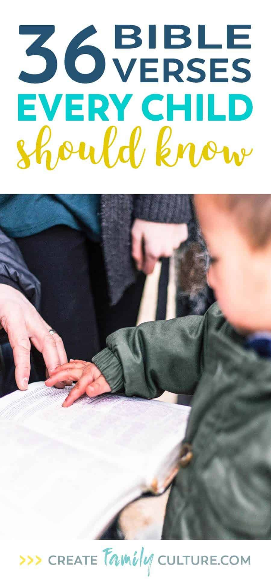 Bible Verses Every Child Should Know   Christian Parenting   Raising Godly Children   Bible Verses for Kids   Faith for Kids