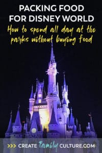 Packing Food for Disney | What to Bring