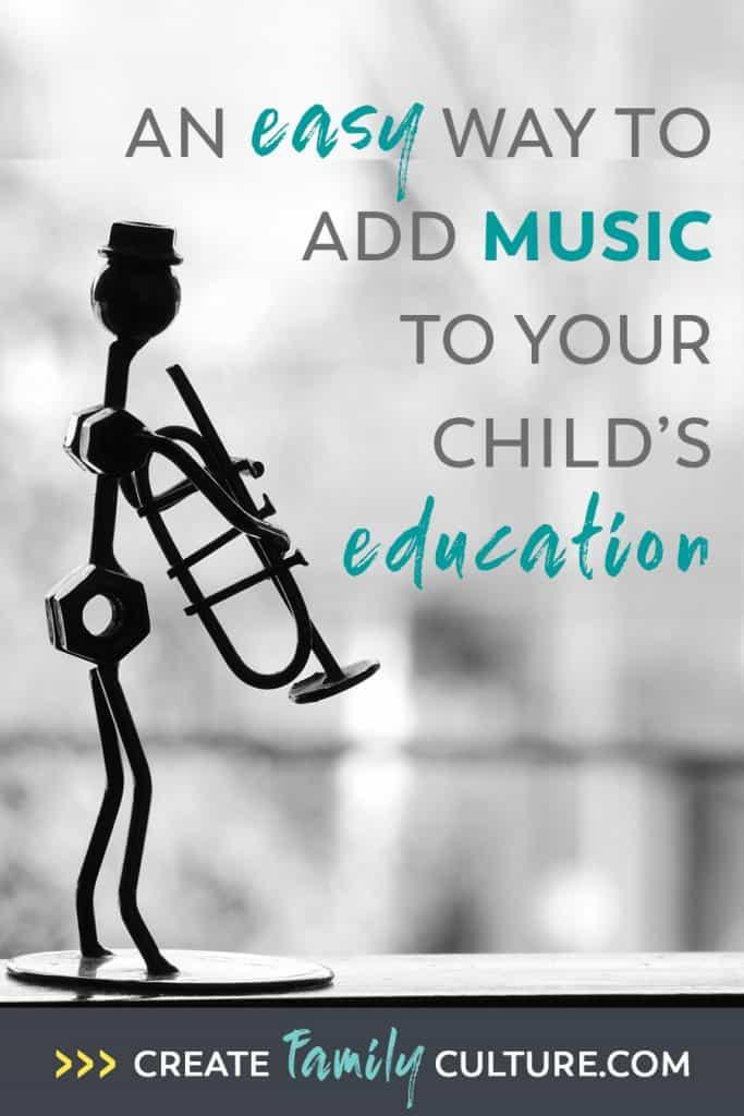 Easy Music and Art Homeschool Curriculum | How to Teach Music | Classical Education | Charlotte Mason Inspired