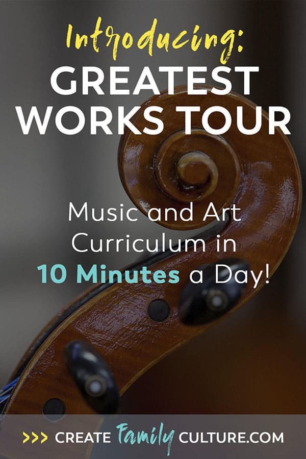 Music and Art Homeschool Curriculum. Easy to use and comprehensive enrichment program!