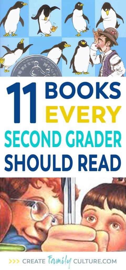 Second Grade Book List   Favorite Books   Elementary School   Homeschool #homeschool #elementary #secondgrade
