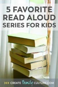 Favorite Read Aloud Series for Kids
