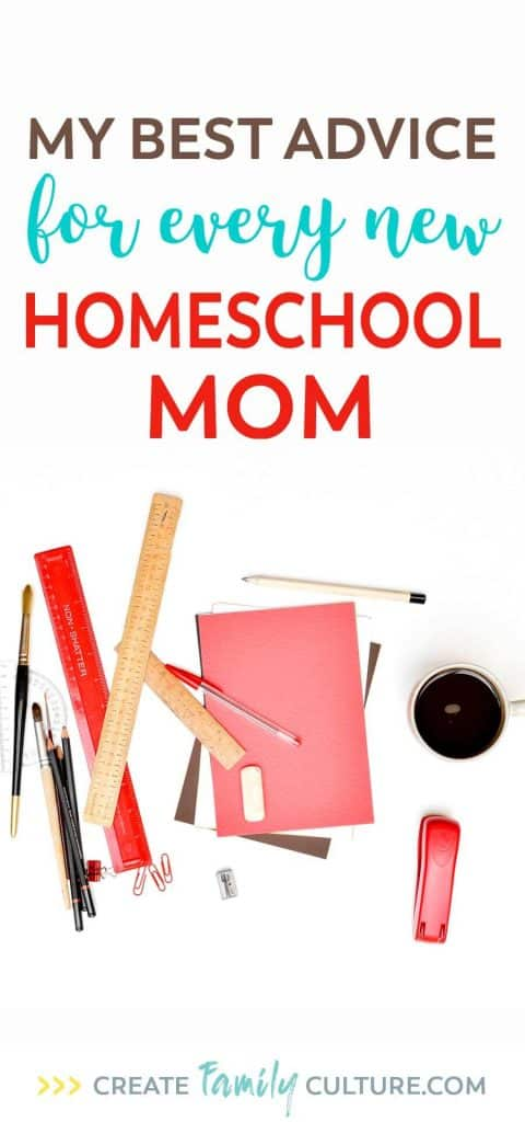 My best advice for new homeschool moms | Homeschool tips, tricks and resources | Starting homeschool