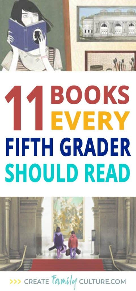 Fifth Grade Book List | 11 Year Old Favorite Books | Elementary School | Homeschool #homeschool #elementary #fifthgrade