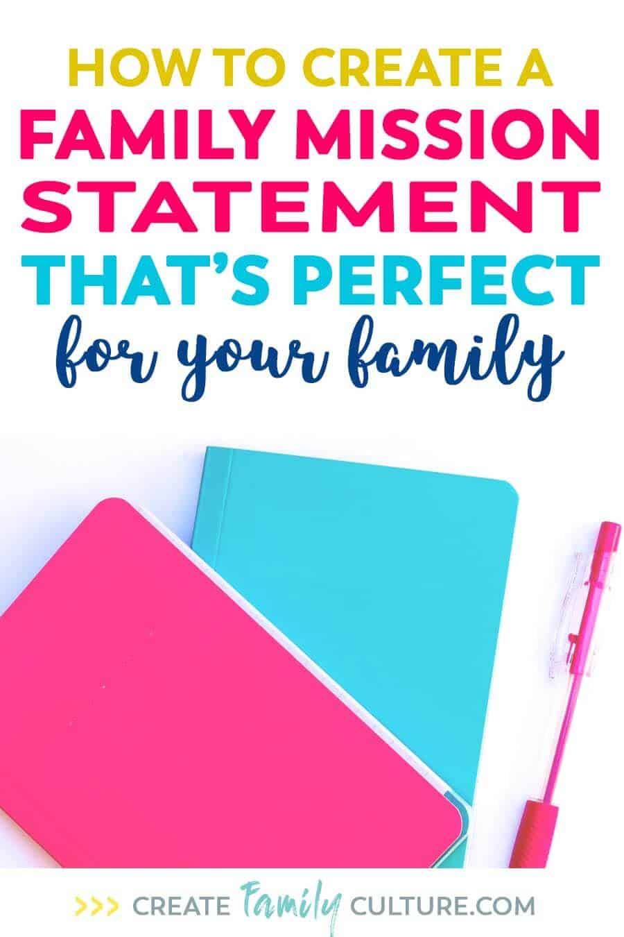 How to Create a Family Mission Statement that's perfect for your family. Intentional parenting and goal setting | Raising godly children #christianparenting #familytips