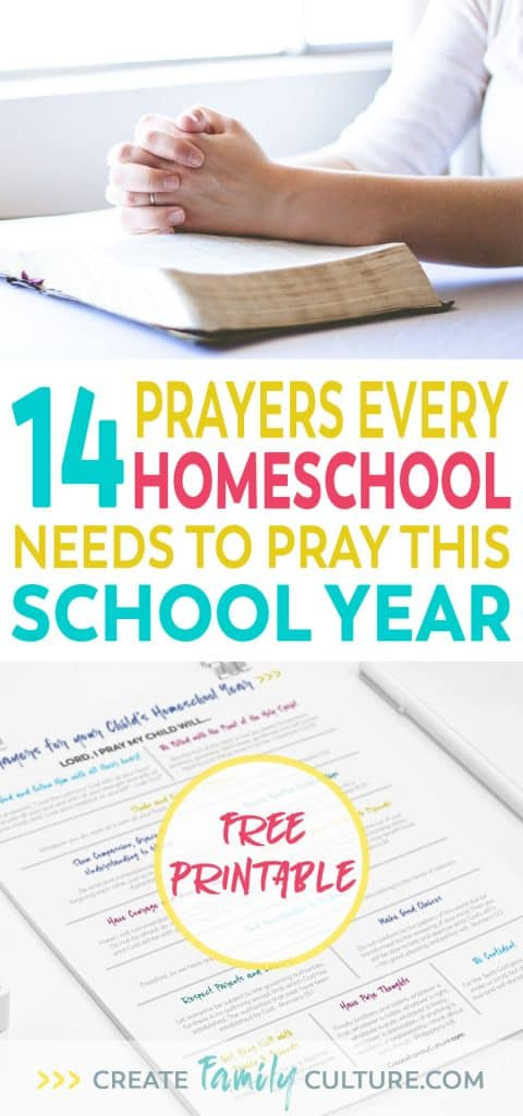 Pray for your child's school year | How to pray for your child | Back-to-School Prayer #christianparenting