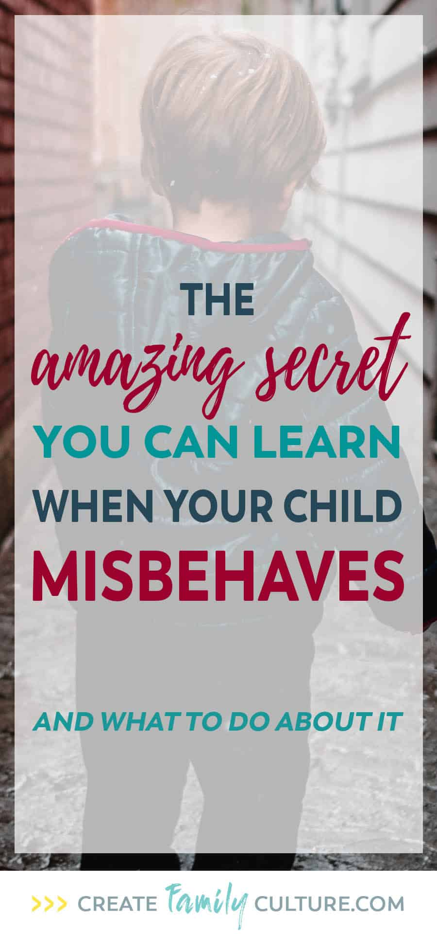 The Amazing Secret You Can Learn When Your Child Misbehaves. Learn How to Use Your Kids' Bad Behavior to Bring Out Their Strengths | Parenting Tips on Discipline | Intentional Parenting #parentingtips #discipline